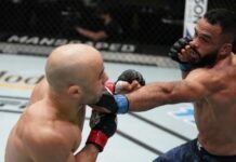 UFC Vegas 17 Rob Font Marlon Moraes