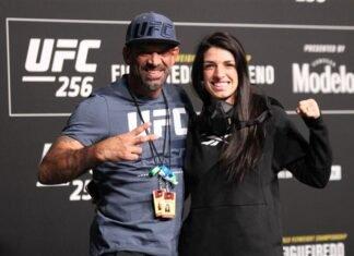 Wellington Dias and Mackenzie Dern, UFC 256