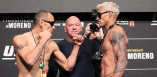 Tony Ferguson and Charles Oliveira, UFC 256