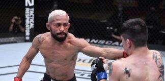 Deiveson Figueiredo and Brandon Moreno UFC 256