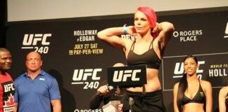 Gillian Robertson, UFC 240