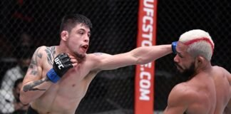 Brandon Moreno and Deiveson Figueiredo, UFC 256