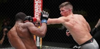 Geoff Neal and Stephen Thompson, UFC Vegas 17