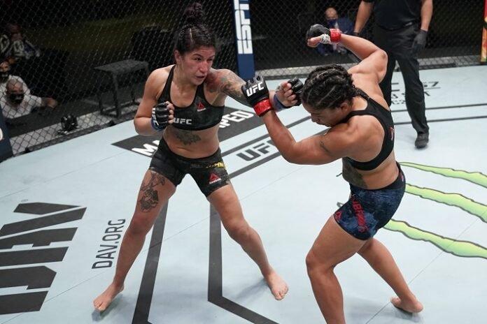 Pannie Kianzad and Sijara Eubanks, UFC Vegas 17