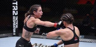 Tecia Torres and Sam Hughes, UFC 256