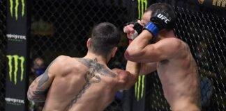 Illia Topuria and Damon Jackson, UFC Vegas 16