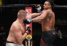 Marcin Tybura and Greg Hardy, UFC Vegas 17