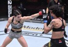 UFC 256 Mackenzie Dern Virna Jandiroba