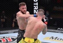UFC 256 Renato Moicano Rafael Fiziev