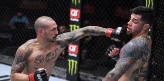 UFC 256 Cub Swanson