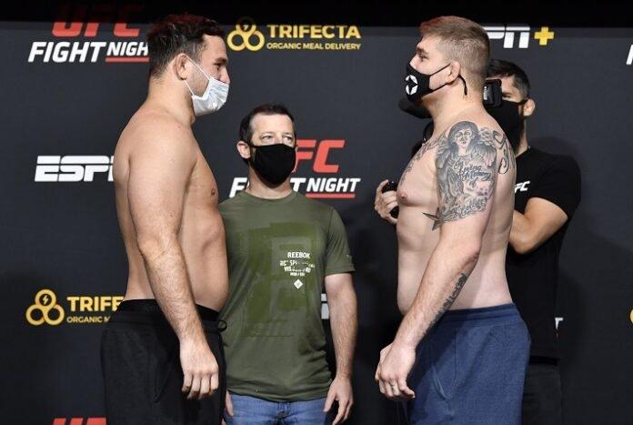 Gian Villante and Jake Collier, UFC Vegas 16