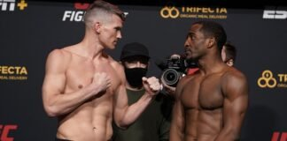 Stephen Thompson and Geoff Neal, UFC Vegas 17