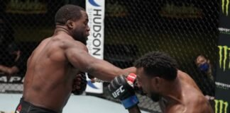 UFC Vegas 17 Tafon Nchukwi Jamie Pickett