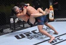 Matt Wiman and Jordan Leavitt, UFC Vegas 16