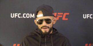 Deiveson Figueiredo UFC 256 media day