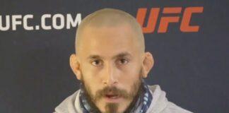 Chito Vera UFC Vegas 17 media day