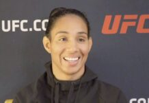 Taila Santos UFC Vegas 17 media day