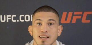 Anthony Pettis UFC Vegas 17 media day appearance