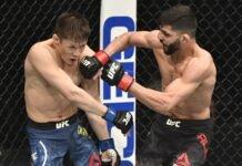 Zhalgas Zhumagulov and Amir Albazi, UFC 257