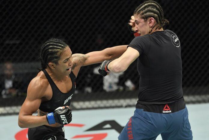 Roxanne Modafferi and Viviane Araujo, UFC Fight Island 8