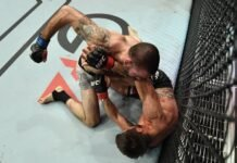 Matt Brown and Carlos Condit, UFC Fight Island 7