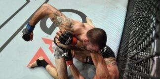 Matt Brown and Carlos Condit, UFC Fight Island 7
