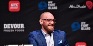 Conor McGregor, UFC 257 press conference