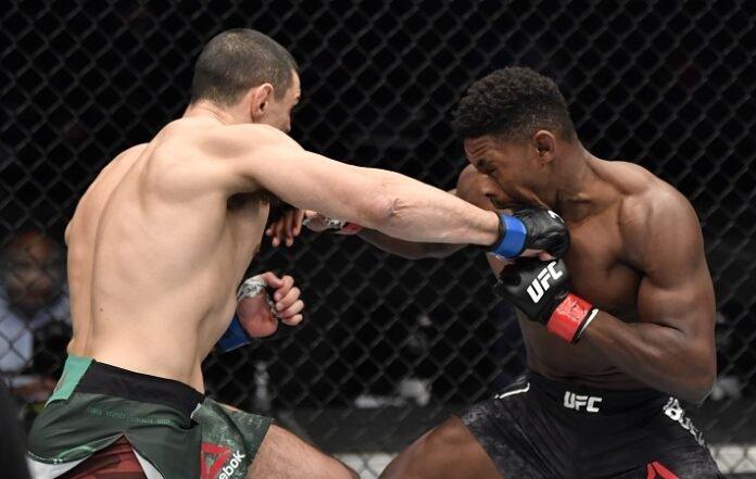 Alessio Di Chirico and Joaquin Buckley, UFC Fight Island 7