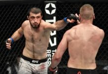 Ramazan Emeev and David Zawada, UFC Fight Island 7