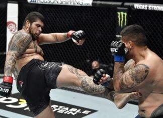 Carlos Felipe and Justin Tafa, UFC Fight Island 7