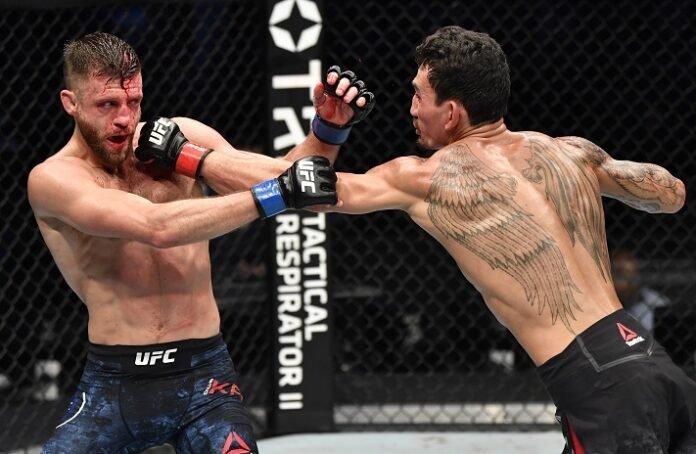 Calvin Kattar and Max Holloway, UFC Fight Island 7