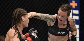 Jessica Eye and Joanne Calderwood, UFC 257