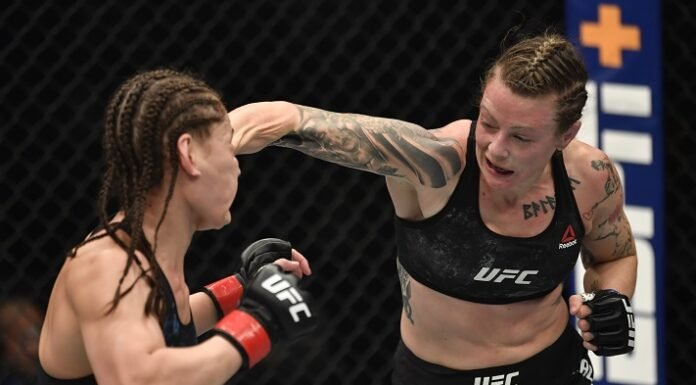 Jessica Eye and Joanne Calderwood, UFC 257