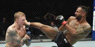 Mason Jones and Mike Davis, UFC Fight Island 8