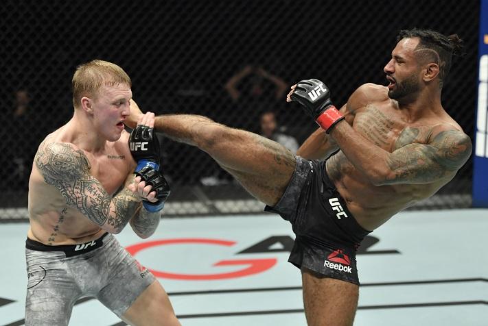 UFC Fight Island 8 Results: Mike Davis Spoils Debut of Mason Jones