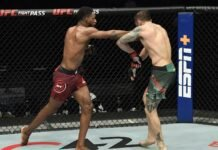 Neil Magny and Michael Chiesa, UFC Fight Island 8