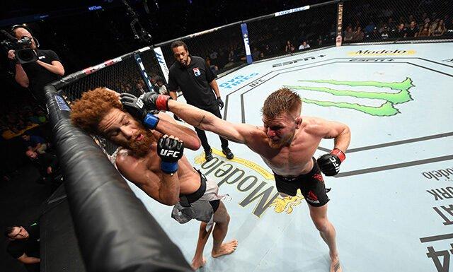 Matt Frevola and Luis Pena, UFC