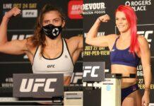 Miranda Maverick and Gillian Robertson, UFC
