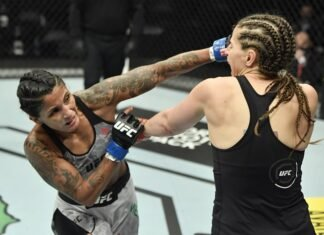 Vanessa Melo and Sarah Moras, UFC Fight Island 7