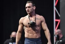 Michael Chandler, UFC 257 face off
