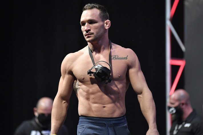 UFC 257's Michael Chandler: It's About Time