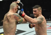 Vinicius Moreira and Ike Villanueva, UFC Fight Island 8