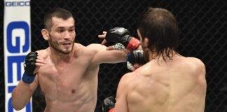Makhmud Muradov and Andrew Sanchez, UFC 257