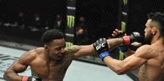 Lerone Murphy and Douglas Silva de Andrade, UFC Fight Island 8