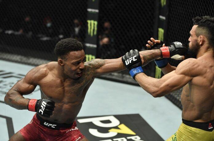 Lerone Murphy and Douglas Silva de Andrade, UFC Fight Island 8