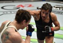 Sara McMann and Julianna Pena, UFC 257