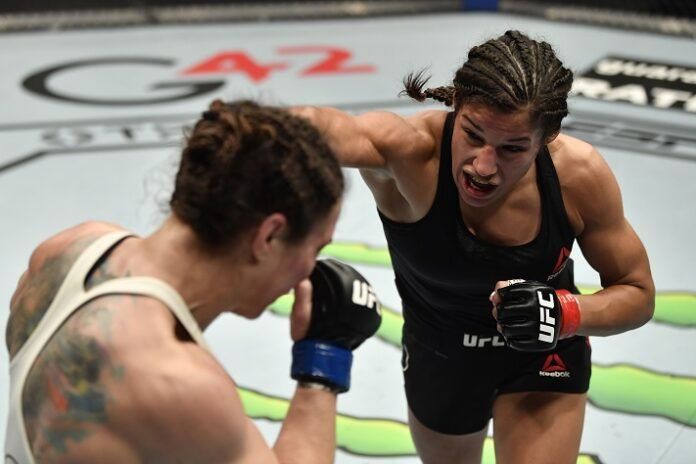 Sara McMann and Julianna Pena, UFC 257