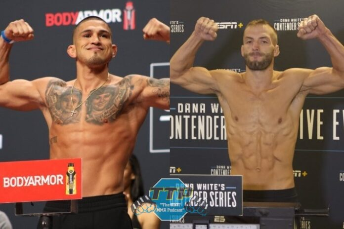 Anthony Pettis and JJ Okanovich, UFC and DWCS
