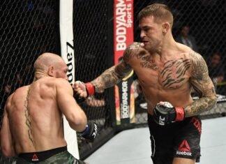 Conor McGregor and Dustin Poirier, UFC 257