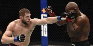 Marcin Prachnio and Khalil Rountree jr, UFC 257